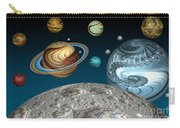 To The Moon And Beyond Carry-all Pouch