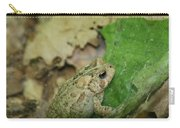Toad Under Cover  Carry-all Pouch