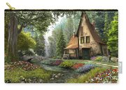 Toadstool Cottage Carry-all Pouch