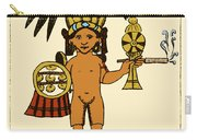 Tobacco In Aztec Ritual, Florentine Carry-all Pouch by Science Source