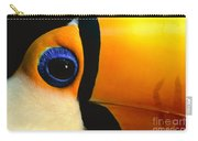 Toco Toucan Face Carry-all Pouch