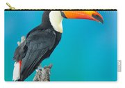 Toco Toucan Perched Carry-all Pouch