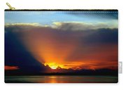 Today Is Forever Lost Tomorrow Carry-all Pouch by Karen Wiles