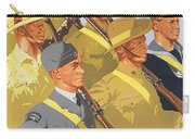 Together Propaganda Poster Carry-all Pouch by Anonymous