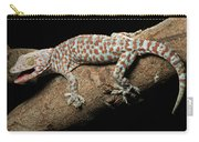 Tokay Gecko In Defensive Display Carry-all Pouch