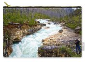 Tokuum Creek Flowing Into Marble Canyon In Kootenay Np-bc Carry-all Pouch