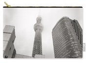 Tokyo Skytree In Clouds Carry-all Pouch