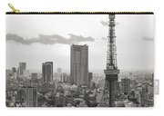 Tokyo Tower And The Zozo-ji Temple Carry-all Pouch