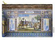 Toledo In The Province Alcove Of The Plaza De Espana Carry-all Pouch