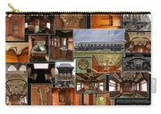 Toledo Peoria Western Pullman Rr Car Collage Carry-all Pouch