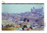 Toledo Spain In Blue Carry-all Pouch