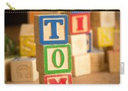 Tom - Alphabet Blocks Carry-all Pouch