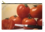 Tomatoes And A Knife Carry-all Pouch