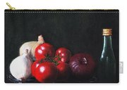 Tomatoes And Onions Carry-all Pouch by Anastasiya Malakhova