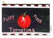 Tomatoes Market Sign Carry-all Pouch