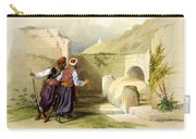 Tomb Of Joseph At Shechem 1839 Carry-all Pouch