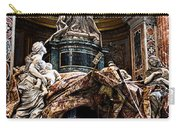 Tomb Of Pope Alexander Vii By Bernini Carry-all Pouch