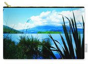 Tongariro National Park Oil On Canvas Carry-all Pouch