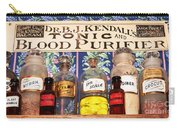 Tonic And Blood Purifier Carry-all Pouch