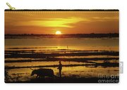 Tonle Sap Sunrise 01 Carry-all Pouch