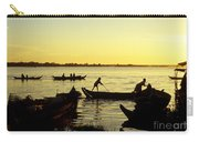 Tonle Sap Sunrise 05 Carry-all Pouch
