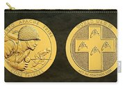 Tonto Apache Tribe Code Talkers Bronze Medal Art Carry-all Pouch