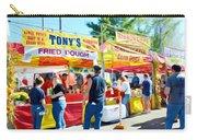 Tonys Concessions Potato Garlic Soup Bread Bowl Carry-all Pouch