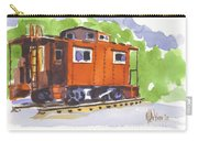 Toot Toot Carry-all Pouch by Kip DeVore