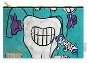 Tooth Pick Dental Art By Anthony Falbo Carry-all Pouch