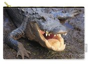 Toothy Grin Carry-all Pouch by Adam Jewell