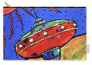 Top In Space Carry-all Pouch by Dale Moses
