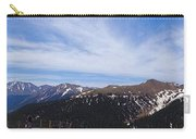 Top Of Independence Pass Panorama Carry-all Pouch