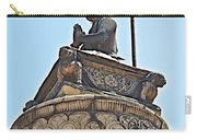 Top Of Stone Pillar In Bhaktapur Durbar Square In Bhaktapur-nepal Carry-all Pouch