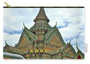 Top Of Temple In Wat Po In Bangkok-thailand Carry-all Pouch