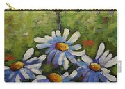 Top Of The Bunch Daisies By Prankearts Carry-all Pouch