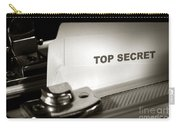 Top Secret Document In Armored Briefcase Carry-all Pouch