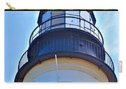 Top View Of Portland Head Light Carry-all Pouch