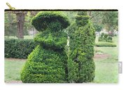 Topiary Couple Carry-all Pouch