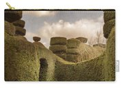 Topiary Maze In A Formal Garden Carry-all Pouch