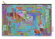 Topographic Albatross Carry-all Pouch