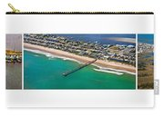 Topsail Island Aerial Panels Carry-all Pouch