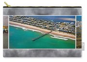 Topsail Island Aerial Panels II Carry-all Pouch