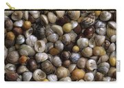 Topshells Whelk And Periwinkle Shells Carry-all Pouch