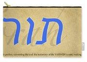 Torah Carry-all Pouch