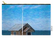 Torekov Beach Hut Painting Carry-all Pouch