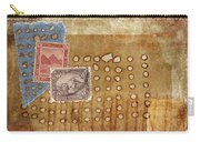 Torn And Burned Carry-all Pouch by Carol Leigh
