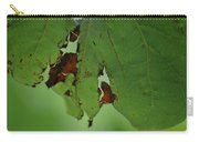 Torn Leaf Abstract Carry-all Pouch