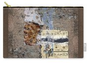 Torn Papers On Wall Carry-all Pouch by Carol Leigh