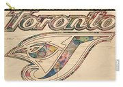 Toronto Blue Jays Logo Art Carry-all Pouch