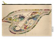 Toronto Blue Jays Poster Vintage Carry-all Pouch